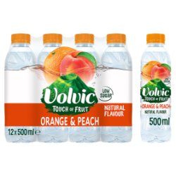 Volvic Touch Of Fruit Orange & Peach