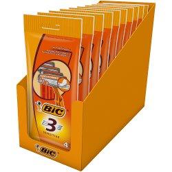 BIC 3 Sensitive P4 Razors - Box of 10