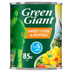 Green Giant Sweetcorn & Peppers 198g