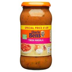 Uncle Bens PMP £1.89 Tikka Masala Sauce 450g