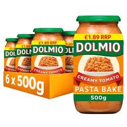Dolmio Pasta Bake PMP £1.89 Creamy Tomato Pasta Sauce 500g