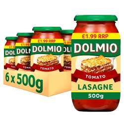 Dolmio Lasagne PMP £1.99 Red Tomato Sauce 500g