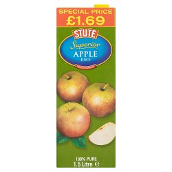 Stute Superior Apple Juice from Concentrate 1.5 Litre