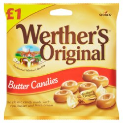 Werther's Original Butter Candies 110g