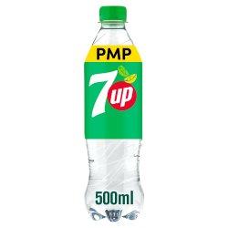 7UP Regular Lemon & Lime Bottle PMP 500ml