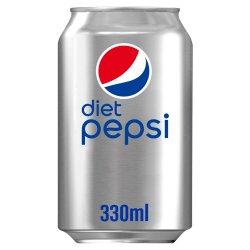 Diet Pepsi Cola Can 330ml