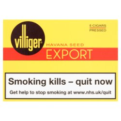 Villiger Export Pressed Cigars 5 Pack