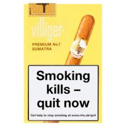 Villiger Premium No.7 Sumatra Cigars 5 Pack