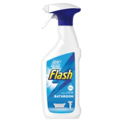 Flash Multi Purpose Cleaning Spray Bath For Hard Surfaces 450ML
