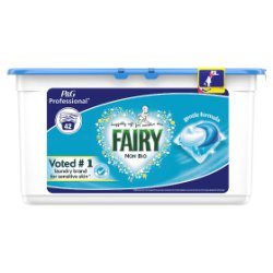 Fairy Non Bio Pods Washing Liquid Capsules 42 Washes