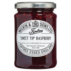 Wilkin & Sons Ltd Tiptree 'Sweet Tip' Raspberry Conserve 340g
