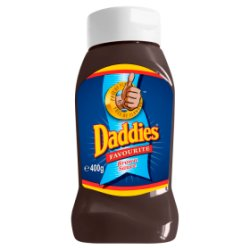 Daddies Favourite Brown Sauce 400g