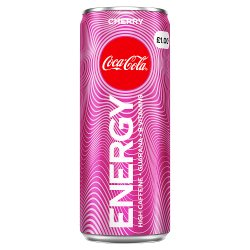 Coca-Cola Cherry Energy Drink 250ml PM £1