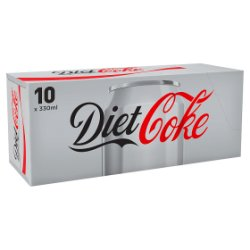 Diet Coke 10 x 330ml PMP £3.99
