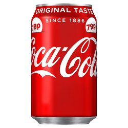 Coca-Cola Original Taste 330ml PMP 79p