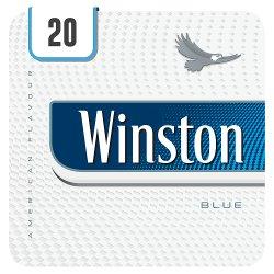 Winston Blue 20 Cigarettes