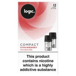 Logic Compact 2 E-Liquid Pods Strawberry 12mg