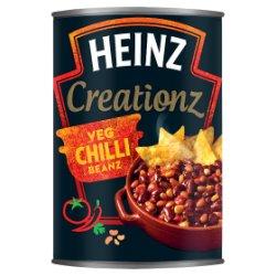 Heinz Creationz Veg Chilli Beanz 390g