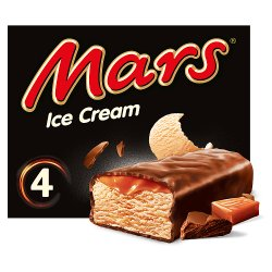 Mars Chocolate Caramel Ice Cream Bar 4 x 51ml