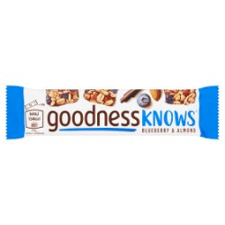 GOODNESSKNOWS® Blueberry & Almond 34g