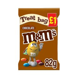 M&M's Chocolate £1 PMP Treat Bag 82g