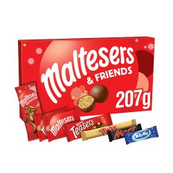 Maltesers and Friends Chocolate Large Christmas Selection Box 207g