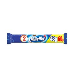 Milky Way Chocolate £0.60 PMP Duo Bar 43g