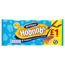 Hobnob Chocolate Flapjack GBP1.00