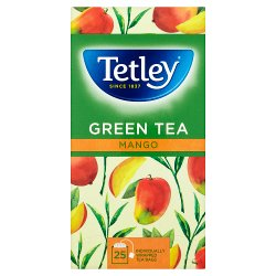 Tetley Mango Green Tea Bags x25