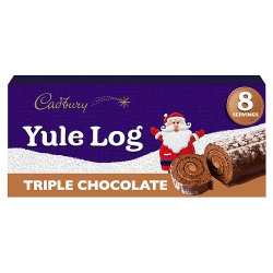 Cadbury Triple Chocolate Yule Log