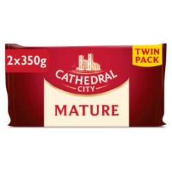 Cathedral City Mature Cheddar Twin Pack 2X350g
