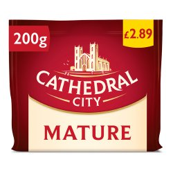 Cathedral City Mature Cheese 200g PM £2.89