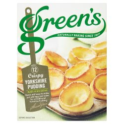 Green's Crispy Yorkshire Pudding 125g
