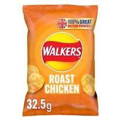 Walkers Roast Chicken Crisps 32.5g
