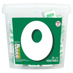 Oxo Vegetable Stock Cubes 378g