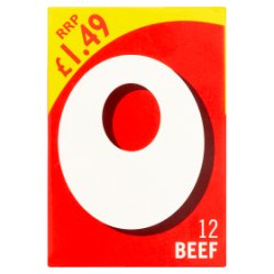 Oxo PMP Beef Stock Cubes x 12
