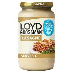 Loyd Grossman No Added Sugar White Lasagne Sauce 440g