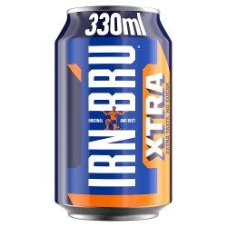 Irn Bru Xtra 330ml Cans
