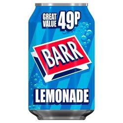 Barr Lemonade 330ml Can, PMP 49p