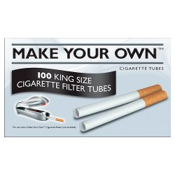 Make Your Own 100 King Size Cigarette Filter Tubes