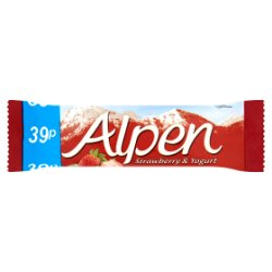 Alpen Bar Strawberry & Yogurt 24 x 29g Pricemarked 39p