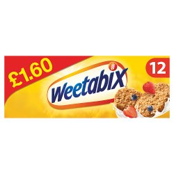 Weetabix Cereal Case 10 x 12 PM £1.60
