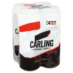 Carling Original Lager 4 x 568ml