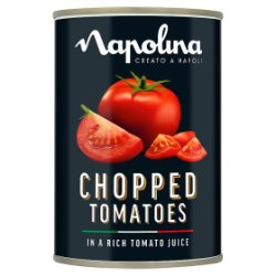 Napolina Chopped Tomatoes in a Rich Tomato Juice 400g