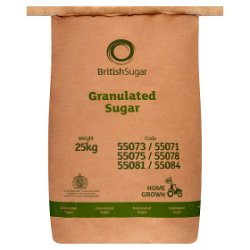 British Sugar Granulated Sugar 25kg