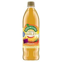 Robinsons No Added Sugar Fruit & Barley Peach 1 Litre