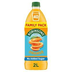Robinsons Orange No Added Sugar Squash 2L