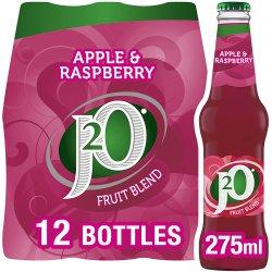 J2O Fruit Blend Apple & Raspberry 12 x 275ml