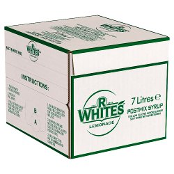 R.White's Lemonade Postmix Syrup 7 Litres