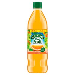 Robinsons Fruit Squash No Added Sugar Orange 12 x 900ml